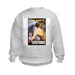 Let Em Have It (Front) Kids Sweatshirt