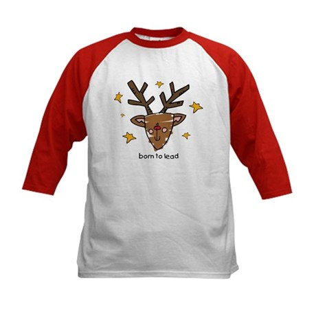 Born To Lead Rudolf Kids Baseball Jersey