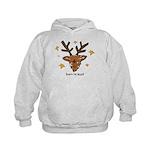 Born To Lead Reindeer Kids Hoodie