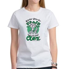 Paws of the Cure Bipolar Diso Tee