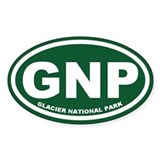 Glacier National Park Decal