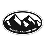 Grand Teton Bumper Stickers