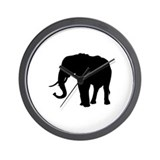 Elephant II Wall Clock