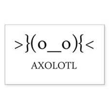 Axolotl Emoticon Decal