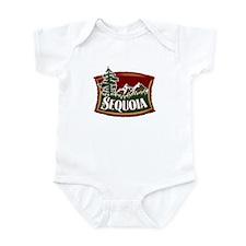 Sequoia Mountains Infant Bodysuit