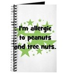 I am allergic to Peanuts & Tr Journal