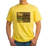 Pacific Ocean Park Memories Yellow T-Shirt