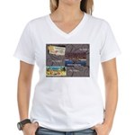 Pacific Ocean Park Memories Women's V-Neck T-Shirt