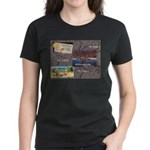 Pacific Ocean Park Memories Women's Dark T-Shirt