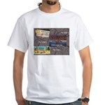 Pacific Ocean Park Memories White T-Shirt