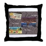 Pacific Ocean Park Memories Throw Pillow