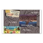 Pacific Ocean Park Memories Sticker (Rectangle 50