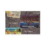 Pacific Ocean Park Memories Rectangle Magnet