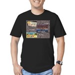 Pacific Ocean Park Memories Men's Fitted T-Shirt (