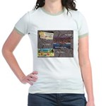 Pacific Ocean Park Memories Jr. Ringer T-Shirt