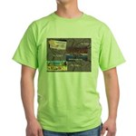 Pacific Ocean Park Memories Green T-Shirt
