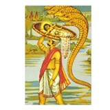 Baby Lord Krishna:  Postcards (Package of 8)
