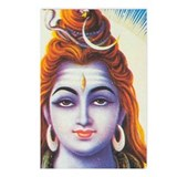 Lord Shiva: Postcards (Package of 8)