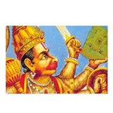 Lord Hanuman : Postcards (Package of 8)