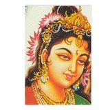 Goddess Parvati: Postcards (Package of 8)