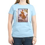 Marines Adventure Poster Art Women's Pink T-Shirt