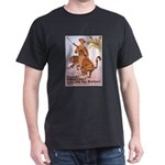 Marines Adventure Poster Art (Front) Black T-Shirt