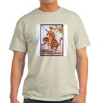 Marines Adventure Poster Art Ash Grey T-Shirt