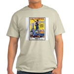 US Marines Service Poster Art Ash Grey T-Shirt