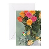 OES Thinking Of You Greeting Cards (Pk of 10)