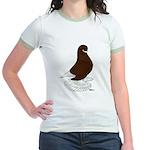 Tumbler Pigeon Bearded Jr. Ringer T-Shirt