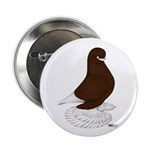 """Tumbler Pigeon Bearded 2.25"""" Button"""