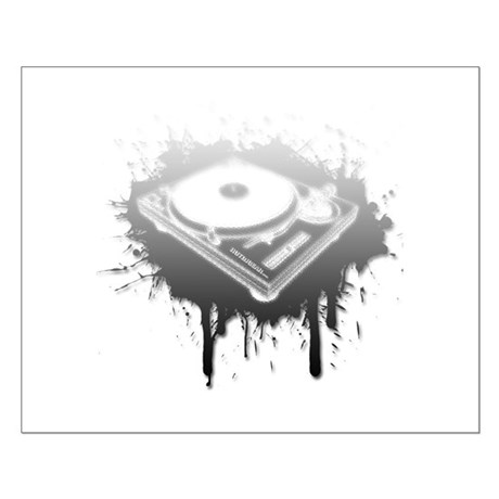 Graffiti Turntable Small Poster
