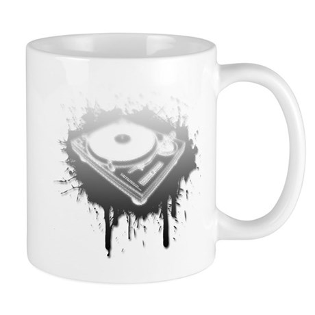 Graffiti Turntable Mug