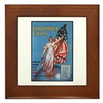 Columbia Calls U.S. Army Framed Tile