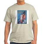 Columbia Calls U.S. Army (Front) Ash Grey T-Shirt