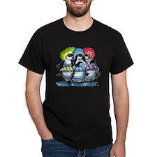 pEnGuIn UmBrEllaS Black T-Shirt