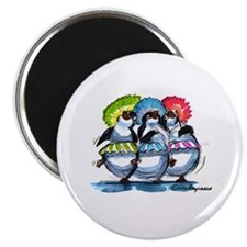"pEnGuIn UmBrEllaS 2.25"" Magnet (10 pack)"