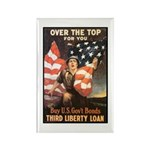 Over the Top Liberty Bonds Rectangle Magnet (10 pa