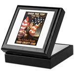 Over the Top Liberty Bonds Keepsake Box