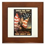 Over the Top Liberty Bonds Framed Tile