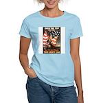 Over the Top Liberty Bonds Women's Pink T-Shirt