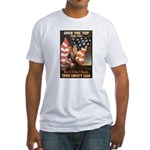 Over the Top Liberty Bonds Fitted T-Shirt