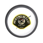Moreno Valley Gang Task Force Wall Clock