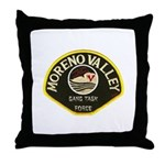 Moreno Valley Gang Task Force Throw Pillow
