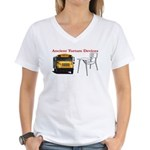 Ancient Torture Devices-2 Women's V-Neck T-Shirt