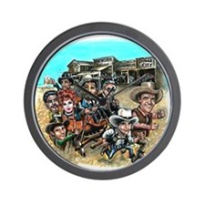 Official GUNSMOKE 55th Anniversary Wall Clock