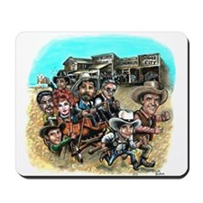 Official GUNSMOKE 55th Anniversary Mousepad
