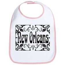 New Orleans Wrought Iron Design Bib