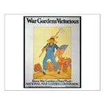 War Gardens Victorious Small Poster