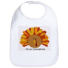 Baby's First Thankgiving Bib